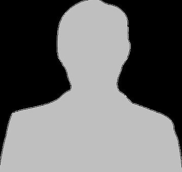 Anonymes Schattenbild