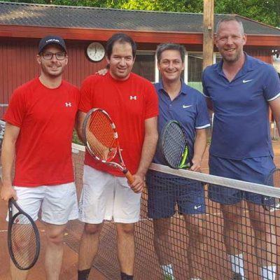 Clubmeisterschaften Doppel Beim TuS Hamburg Tennis