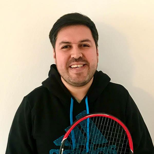 Tennistrainer John Ehler Portrait