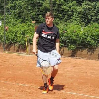 Tennisspieler Patrick Funk Trainer Bei TuS Hamburg